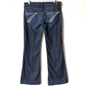 7 For All Mankind Dojo Flip Flop Jeans Size 29
